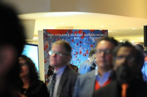 UN Women and UNiTE 2014 campaign to end violence against women. Photo: UN Women/Jennifer S. Altman