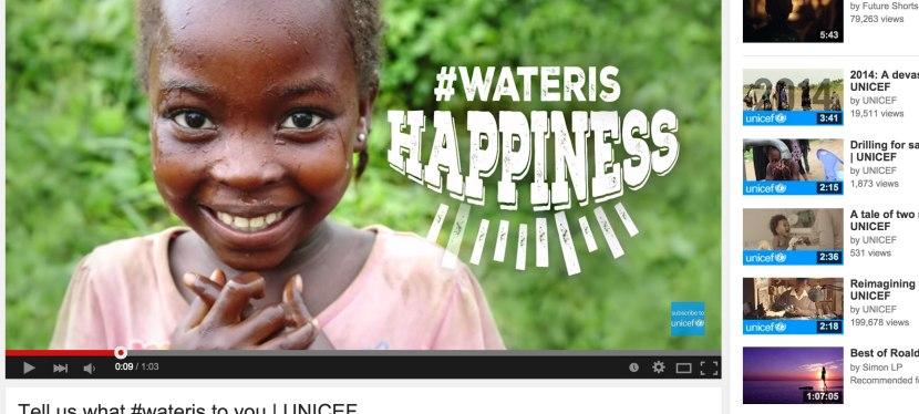 UNICEF wins WebbyAward