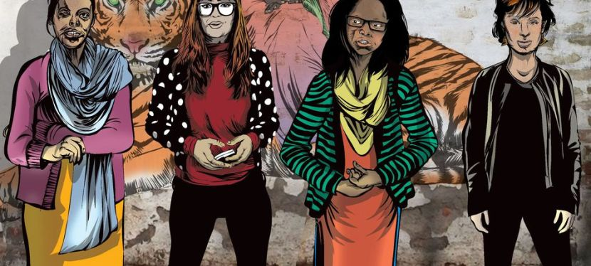 Augmented reality comic book narrates the resilience of acid attack survivors