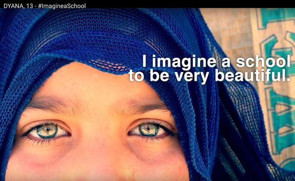 #ImagineaSchool: Documenting Syrian children's struggle for education