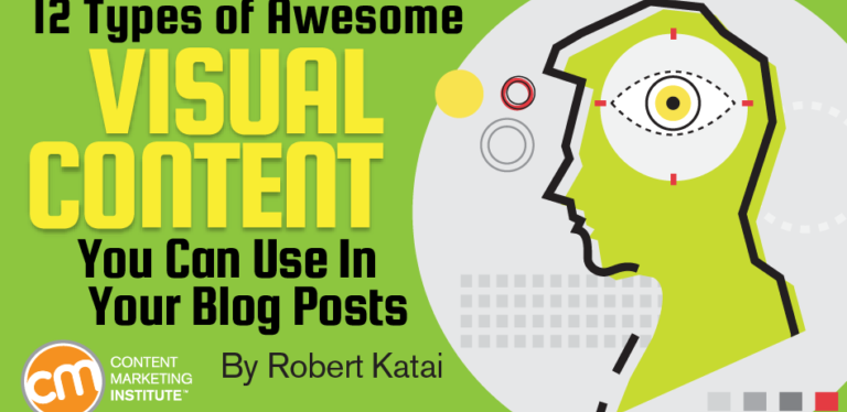 12 types of visual content to use in your articles, reports and webpages